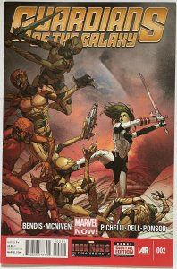 Guardians of the Galaxy Vol.3 #2 (2013 Marvel)