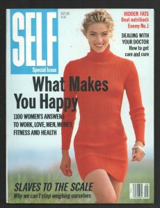 Self 9/1989-Special Issue-What Makes You Happy-Elaine Irwin photo cover-Slave...