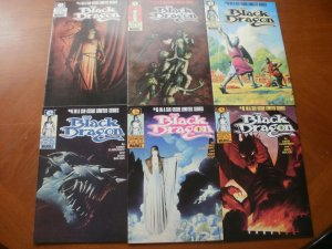6 Near-Mint Epic Limited Series Comic: BLACK DRAGON #1 2 3 4 5 6 (1985) COMPLETE