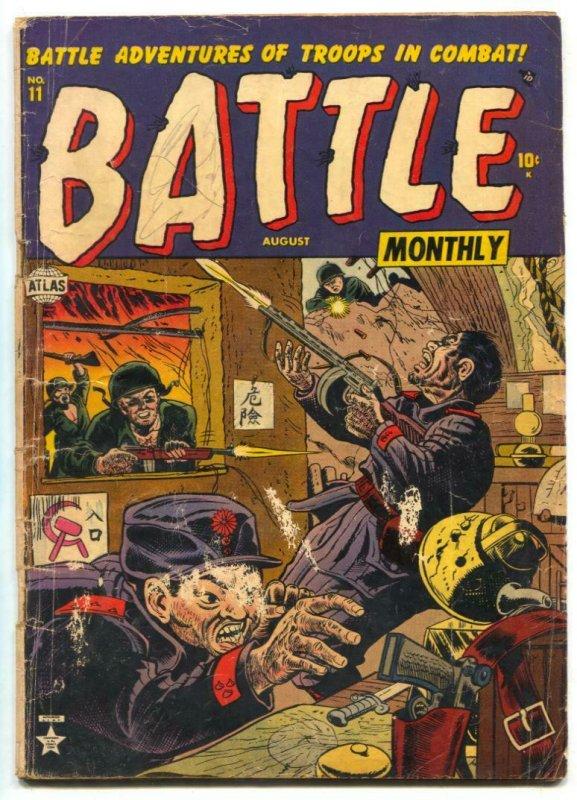 Battle #11 1952- Atlas comics- Korean War G