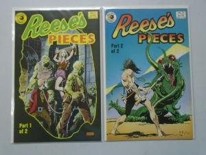Reese's Pieces set #1+2 8.0 VF (1985)