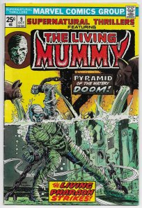 Supernatural Thrillers #9 The Living Mummy | MVS Intact (Marvel, 1974)