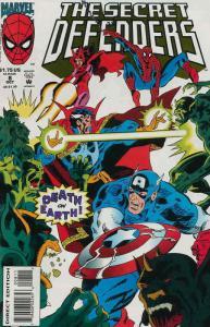 Secret Defenders #8 VF/NM; Marvel | save on shipping - details inside