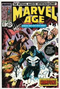 Marvel Age #67 (Marvel, 1988) VF