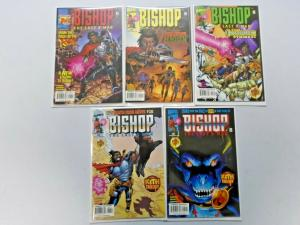 Bishop the Last X-Man run #1 to #5  - 8.0 - 1999