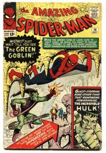 Amazing Spider-Man  #14 First appearance GREEN GOBLIN Marvel Silver-Age