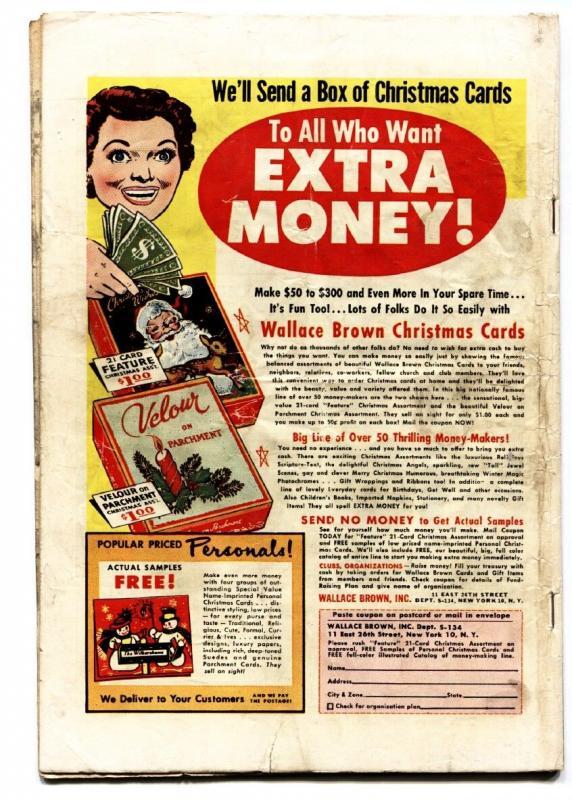 BATTLE FRONT #35 JOE MANEELY-Violent Atlas War Comic 1955