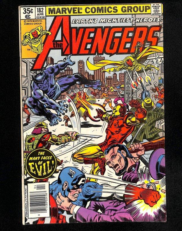 Avengers #182