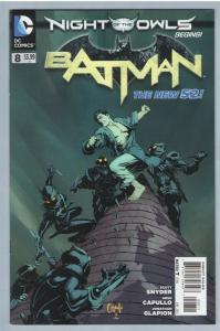 Batman 8 Jun 2012 NM- (9.2) - New 52