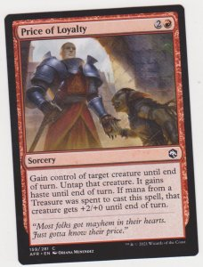 Magic the Gathering: Adventures in the Forgotten Realms - Price of Loyalty