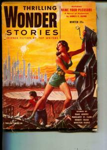 Thrilling Wonder Stories-Pulp-Winter/1955-Isaac Asimov-Robert Crane