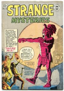Strange Mysteries #15 1964- Super Golden Age horror pre-code reprints- VG+