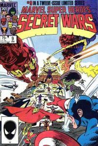 Marvel Super-Heroes Secret Wars #9, NM- (Stock photo)