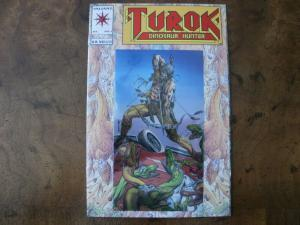 VALIANT Comic (1993) TUROK, DINOSAUR HUNTER (Gold Foil Reflective Cover Edition)