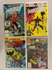 Daredevil run #6-9 Annual 1st Series 4 different books 8.0 VF (1990 to 1993)