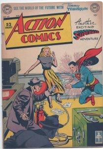 ACTON COMICS 142, VF (8.0), 1950 DC COMICS, COOL COVER, GOLDEN AGE SUPERMAN