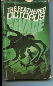DOC SAVAGE-THE FEATHERED OCTOPUS-#48-ROBESON-G-JAMES BAMA COVER G