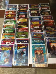 Futures End Lenticular 3D 41 Issue Set + 41 Regular Cover Set 82 Issues Total Nm