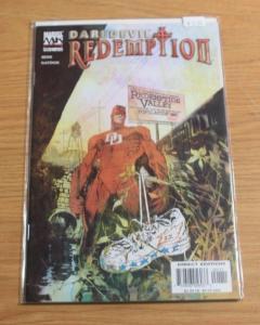 DAREDEVIL  REDEMPTION #1,2,3,4, SIENKIEWICZ, MARVEL NETFLIX  TV HERO MATT MURDOC