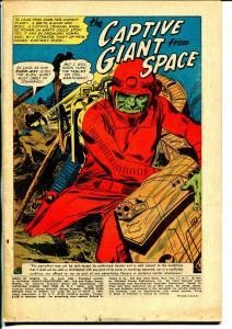 House of Secrets #43 1961-DC- coverless bargain copy-Joe Kubert -Hawlman ad-P