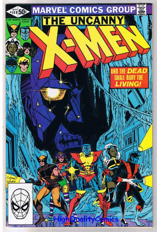 X-MEN 149, VF+, Wolverine, Chris Claremont, Uncanny, more in store