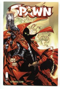 SPAWN #107 2001-Capullo-Image comic book NM-
