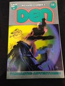 Richard Corben Den #8 Fantagor Press Heavy Metal Magazine Comic 1989