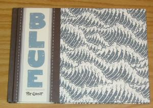 Blue HC VF/NM top shelf hardcover PAT GRANT surfers find dead body in surf town