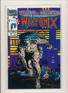 Marvel Comics WEAPON X #80 1991 FINE/VERY FINE (PF598)