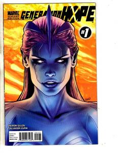 Generation Hope # 1 NM 1st Print Marvel Comic Book VARIANT Cover X-Men Cable MK3