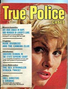 TRUE POLICE CASES-DEC/1964-SEX STRANGLER-GIRLS-GANGSTERS-SUPREME COURT FR