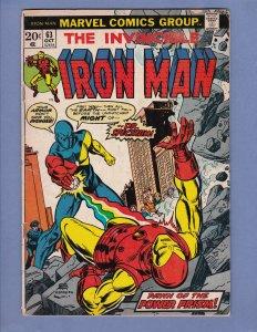Iron Man #63 GD/VG Marvel 1973