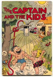 Captain and the Kids #31 1953- Golden Age comics VG
