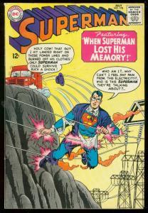 SUPERMAN #178 1965-DC COMICS-CLARK KENT AMNESIA VG