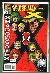 Spider-Man and X-Factor: Shadowgames #3 (1994)