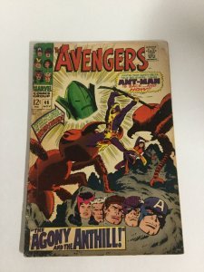 Avengers 46 Vg Very Good 4.0 Marvel Comics Silver Age