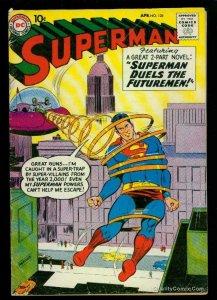 Superman #128 VG- 3.5