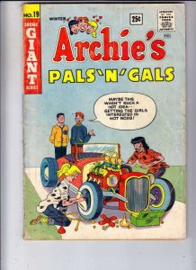 Archie's Pals 'n' Gals # 19 Strict VG- Affordable-Grade Marilyn Monroe & more
