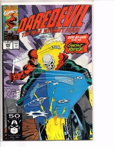 Marvel Comics Daredevil #295 NM Ghost Rider