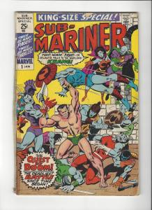 Submariner Special #2 Gene Colan Marvel Comics Low Grade