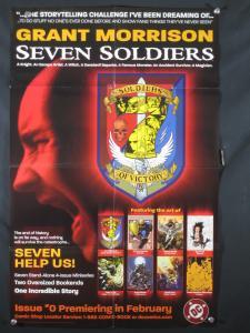 Seven Soliders DC Comics Promo Poster 2005 34x11