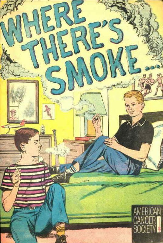 Where There's Smoke #1 FN; American Cancer Society | save on shipping - details