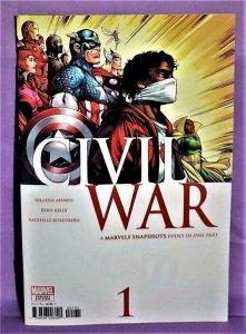 Ryan Kelly CIVIL WAR MARVELS SNAPSHOTS #1 Variant Cover (Marvel, 2021)!