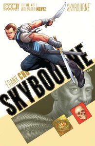 Skybourne #4, NM + (Stock photo)