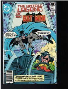 Untold Legend of the Batman #2 (DC, 1980)