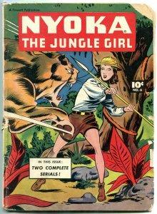 Nyoka The Jungle Girl  #6 1947- Fawcett Golden Age-FAIR