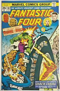 FANTASTIC FOUR#167 FN 1976 MARVEL BRONZE AGE COMICS
