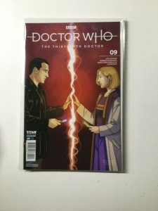 Dr Doctor The Thirteen Doctor 9 Variant Near Mint Titan Comics HPA