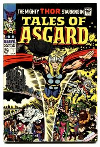 Tales of Asgard #1-comic book 1968-Thor-Jack Kirby-Marvel