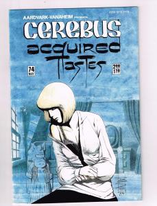 Cerebus The Aardvark # 74 VF Aardvark-Vanaheim Comic Book Dave Sim 1st Print S10